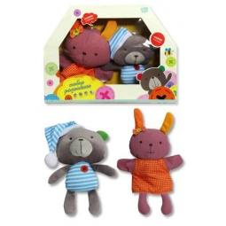 Купить Набор игрушек плюшевых интерактивных Bobbie & Friends «Радиомама»