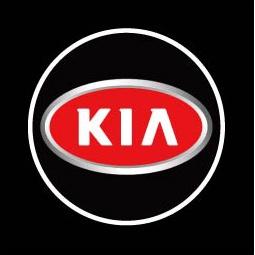 фото Светодиодные проекторы логотипа автомобиля KIA 3D welcome light