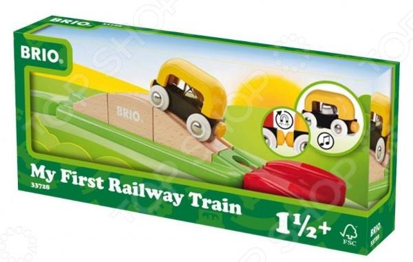 Набор железной дороги игрушечный Brio «Эстакада-пазл»