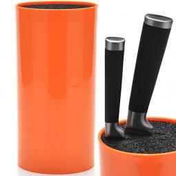 фото Подставка для ножей Mayer&Boch однотонная. Цвет: оранжевый