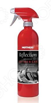 Очиститель-кондиционер для кожи Mothers MS10424 ReflectionsОчистители для автомобилей и комплектующих<br>Очиститель-кондиционер для кожи Mothers MS10424 Reflections представляет собой эффективное средство для очистки кожаного салона автомобиля. Его активные компоненты быстро растворяют пыль и грязь, придавая обработанным поверхностям свежий вид, эластичность и мягкость. Помимо этого, средство также защищает кожаную обивку от негативного воздействия солнечных лучей.<br>