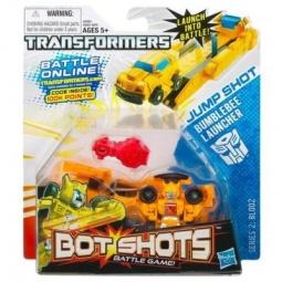 фото Игрушка трансформер Hasbro Бот Шот с запускающим устройством. В ассортименте