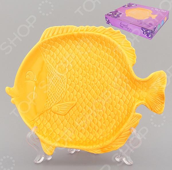 фото Блюдо Elan Gallery «Рыбка». Длина: 21 см, Сервировочные блюда