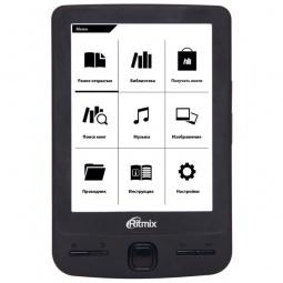 фото Книга электронная Ritmix RBK-200. Цвет: черный