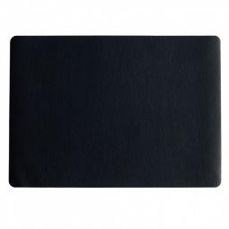 фото Салфетка под посуду Asa Selection Leder. Цвет: черный