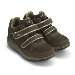 Кроссовки адаптивные женские Walkmaxx Wedge. Цвет: коричневый