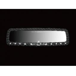 Купить Зеркало внутрисалонное со стразами D.A.D AJ02