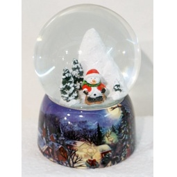 фото Декорация-шар Новогодняя сказка «Рождественская ночь» 972091