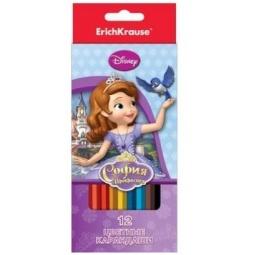 фото Набор карандашей цветных Erich Krause «Принцесса София»