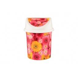 Купить Контейнер для мусора Violet 0404/97 «Хризантемы»