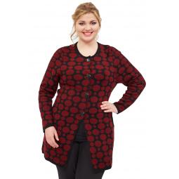 Купить Пальто Milana Style «Легкий узор»
