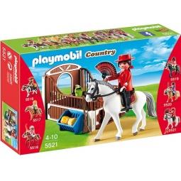 фото Конструктор игровой Playmobil «Конный клуб: Андалусская лошадка и загон»