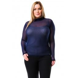 фото Водолазка Mondigo XL 8530. Цвет: темно-синий. Размер одежды: 50