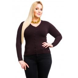 фото Жакет Mondigo XL 9130. Цвет: коричневый. Размер одежды: 52