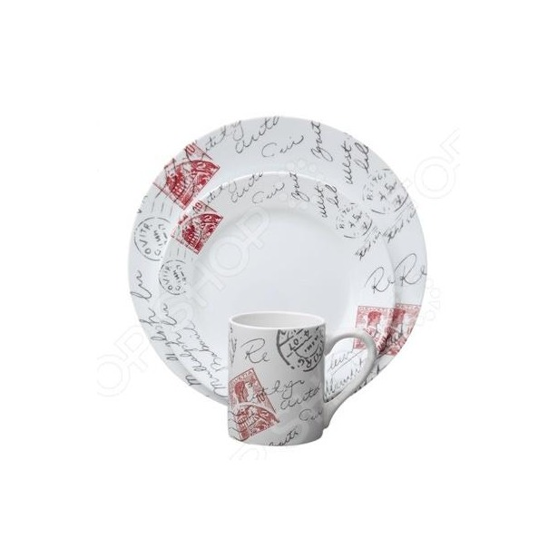 фото Набор посуды Corelle Sincerely Yours: 16 предметов