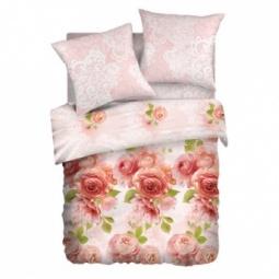 фото Комплект постельного белья Романтика «Свежие бутоны» 291797. 1,5-спальный