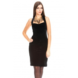 фото Платье Mondigo 7024. Цвет: черный. Размер одежды: 46