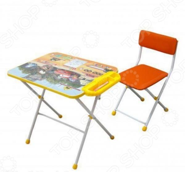 Набор мебели детский: стол и стул Ника «Тачки» Д3Т