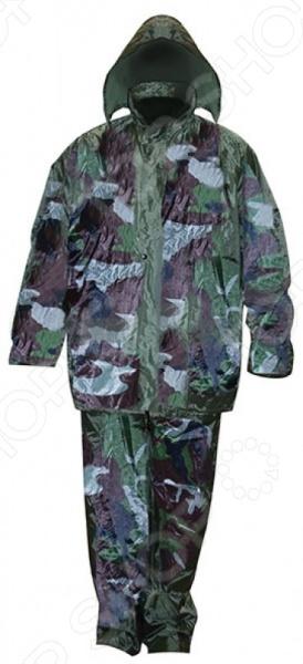 Костюм влаго-защитный 12166 «Камуфляж» Костюм влагозащитный China «Камуфляж» 12166