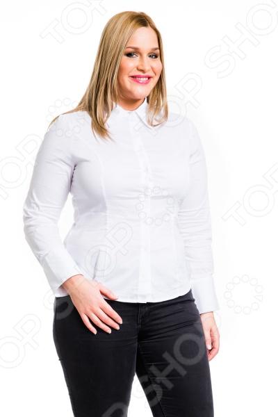 Рубашка Mondigo XL 9604. Цвет: белый