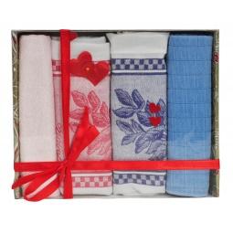 фото Комплект из 2-х полотенец и салфеток подарочный BONITA «Нежность»