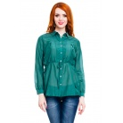 Фото Блузка Mondigo 9954. Цвет: темно-зеленый. Размер одежды: 44