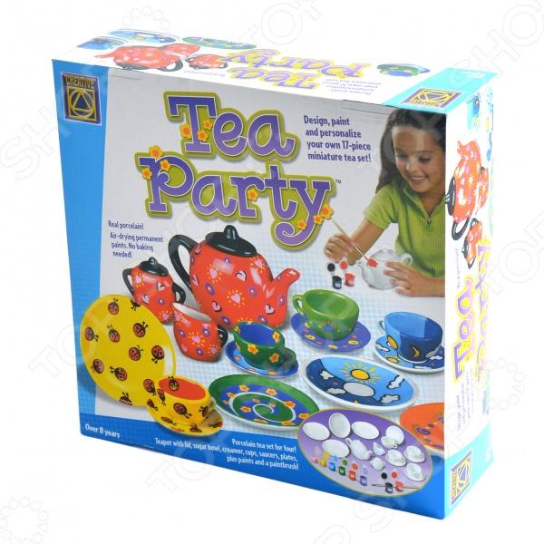 Набор для творчества Creative Украшаем чайный сервиз creative creative набор для творчества салон красоты