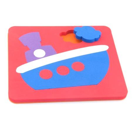 Купить Игрушка-сортер развивающая El Basco «Рамка-вкладыш. Корабль»