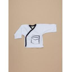 фото Распашонка для новорожденных Ёмаё 23-307. Цвет: белый. Размер: 36