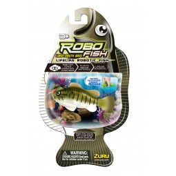 Купить Роборыбка Zuru RoboFish «Большеротый окунь»