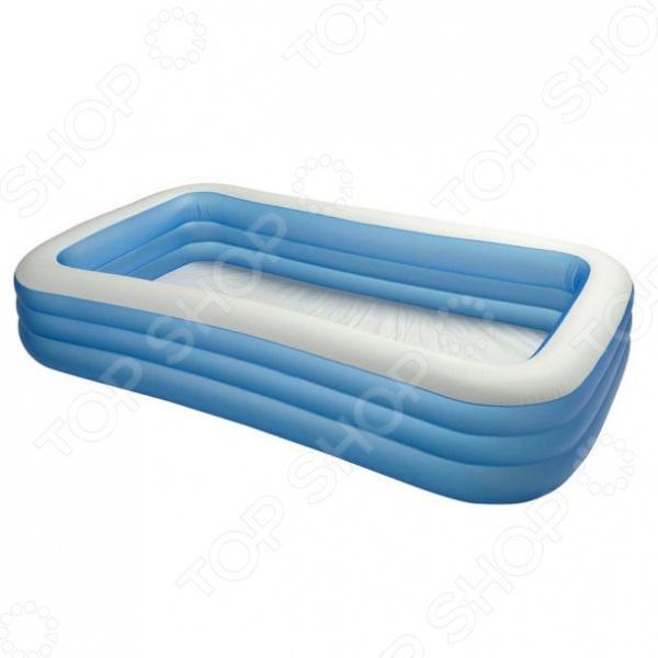Бассейн надувной Intex 58484 матрасы для плавания intex лодка 58394np