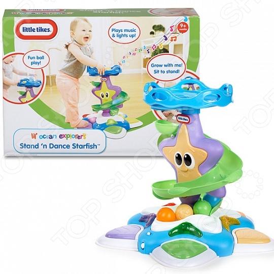 Игрушка для ванны Little Tikes «Морская звезда с горкой-спиралью» велосипед для малыша little tikes 4783