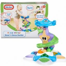 фото Игрушка для ванны Little Tikes «Морская звезда с горкой-спиралью»