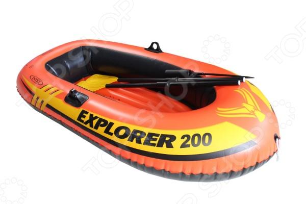 Лодка надувная Intex Explorer 200 лодка надувная intex explorer 300 set 58332 211х117х41см насос весла