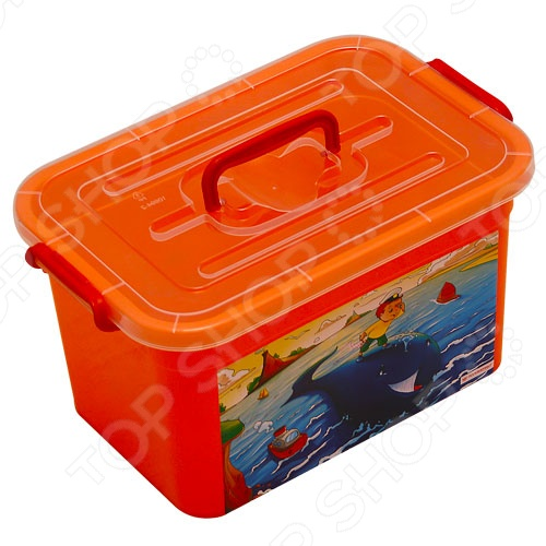 Ящик детский Полимербыт С81001. В ассортименте