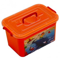 Купить Ящик детский Полимербыт С81001. В ассортименте