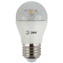 фото Лампа светодиодная Эра P45 Clear. Цоколь: E14. Мощность: 7 Вт. Цветовая температура: 4000К