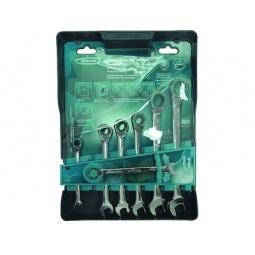 Купить Набор ключей комбинированных реверсивных с трещоткой GROSS