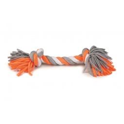 фото Игрушка для собак Beeztees Tricot «Канат с 2-мя узлами». Длина: 38 см