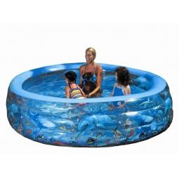 фото Бассейн надувной Bestway «Синее море» 51071