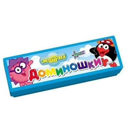 Купить Домино детское Нордпласт «Смешарики» 06431