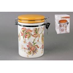 Купить Банка для хранения сыпучих продуктов Коралл HC8600B-F60 «Марокканский цветок»