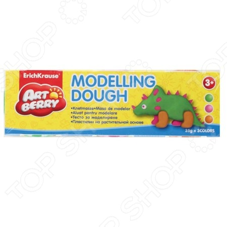 ��������� �� ������������ ������ ����� Erich Krause Modelling Dough �2: 3 �����