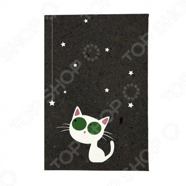 Обложка для автодокументов Mitya Veselkov «Кошка и звезды» обложки mitya veselkov обложка для автодокументов райский сад