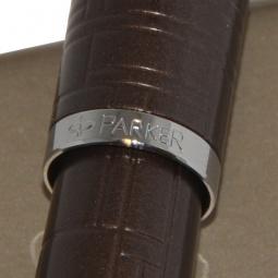 Купить Ручка перьевая Parker IM Premium F222 Metal Brown