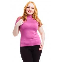 фото Водолазка Mondigo XL 037. Цвет: темно-розовый. Размер одежды: 48