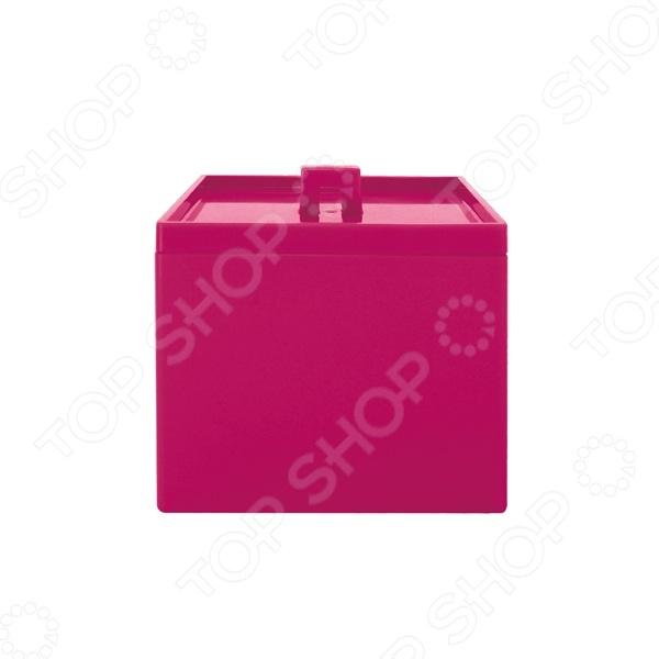 Контейнер для хранения Zak!designs «Кухонная геометрия». Цвет: малиновый. Уцененный товар