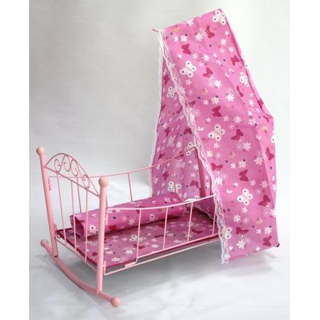 Купить Кроватка для кукол Shantou Gepai с балдахином 43699