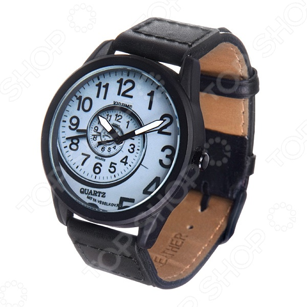 Часы наручные Mitya Veselkov «Спираль времени» MVBlack