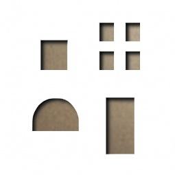 фото Форма для вырубки на магнитной основе Sizzix Movers & Shapers Die Мини-отверстия